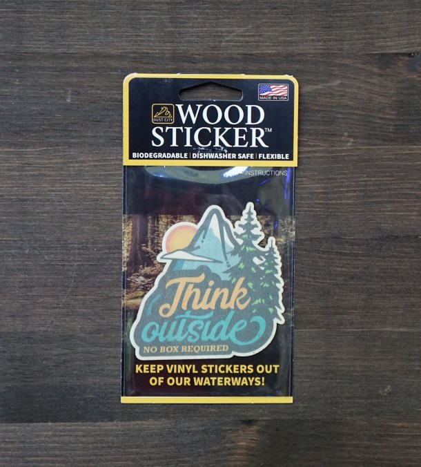 Think Outside Sticker Single Pack