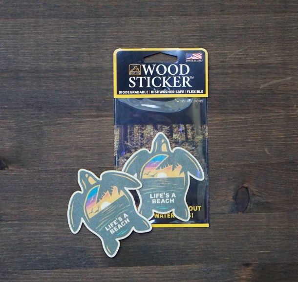 Turtle Pack and Sticker