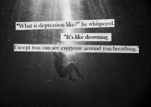 Depression is Gray and Black