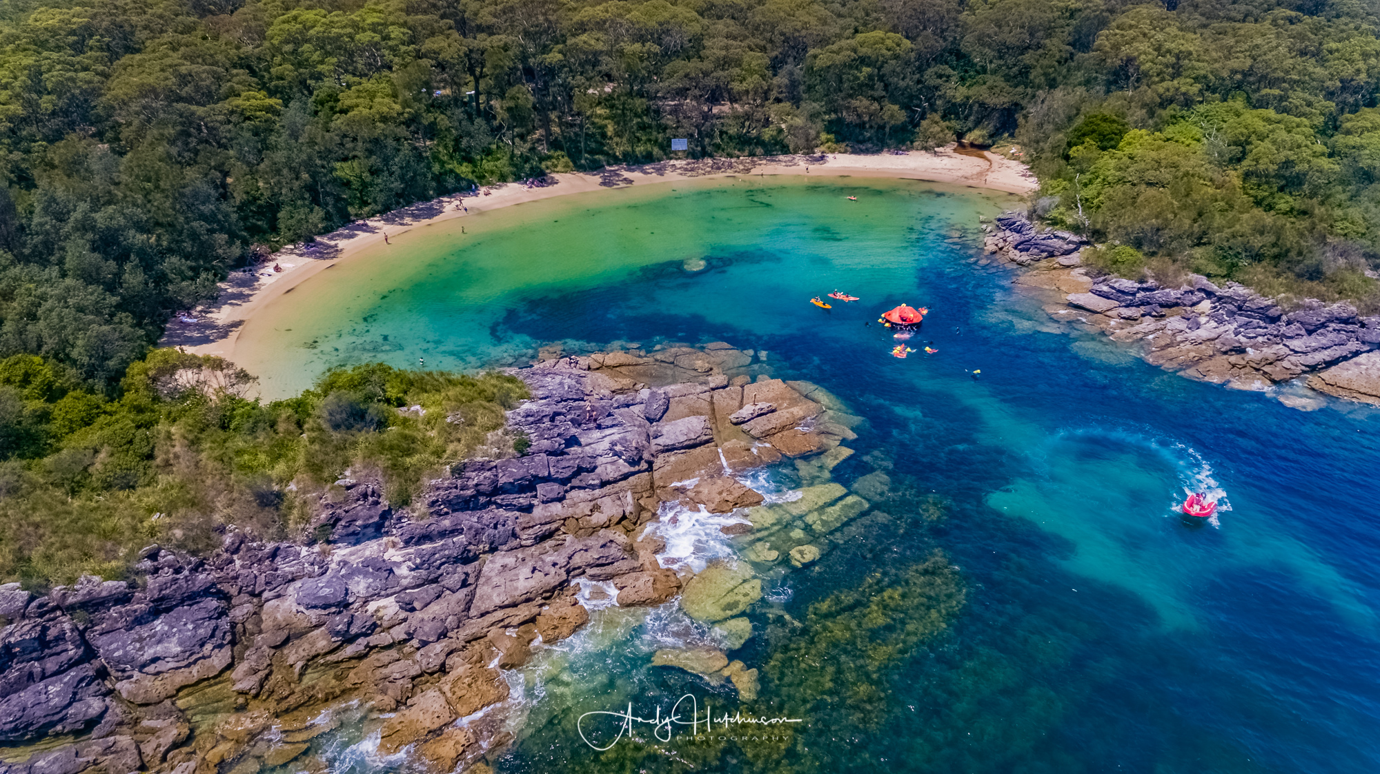 Beautiful Honeymoon Beach is a stunning little bay located in the Beecroft Weapons Range to the north of Jervis Bay. It can get super busy at peak times so get down early to snag yourself a bit of space on its immaculate sand.