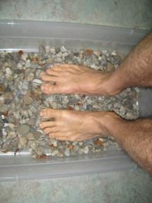 Gravel Bucket Barefoot Gentile