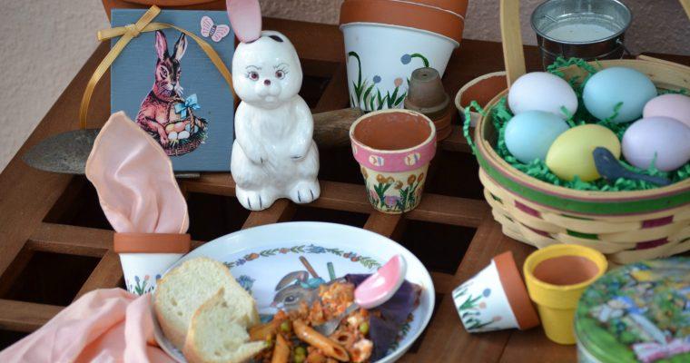 Potting Bench, Mr. McGregor's Garden Easter