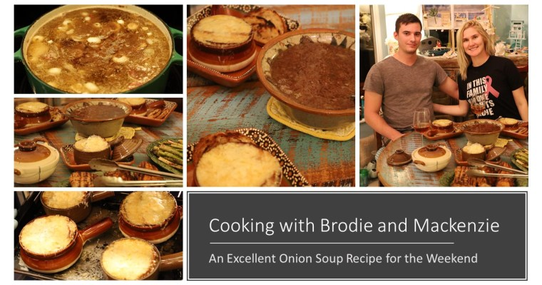 Cooking With Brodie and Mackenzie, Onion Soup