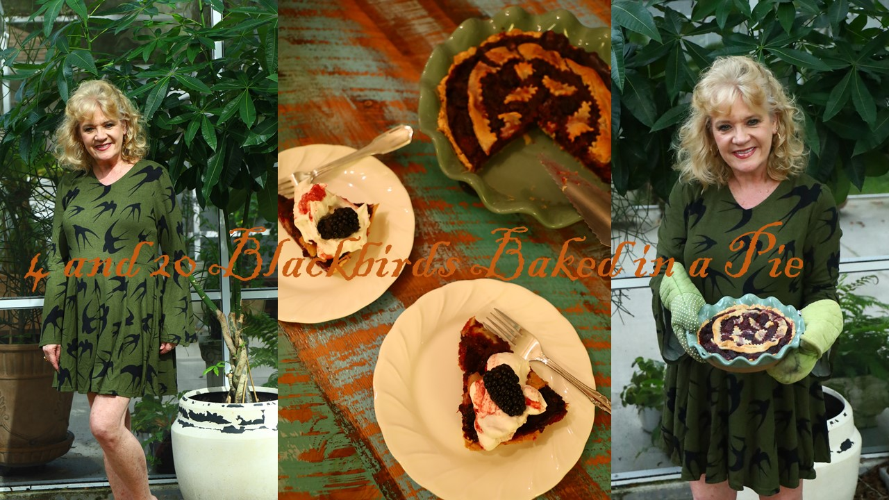 4 and 20 Blackbirds (Berries) Baked in a Pie