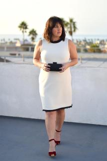 Style Winter White Dress 4 Ways - Barefoot In L