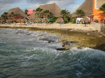 Barefoot Beach Costa Maya Mexico