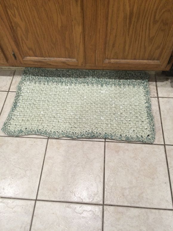 Little Rug in the Kitchen