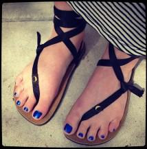 Luna Sandals Barefoot