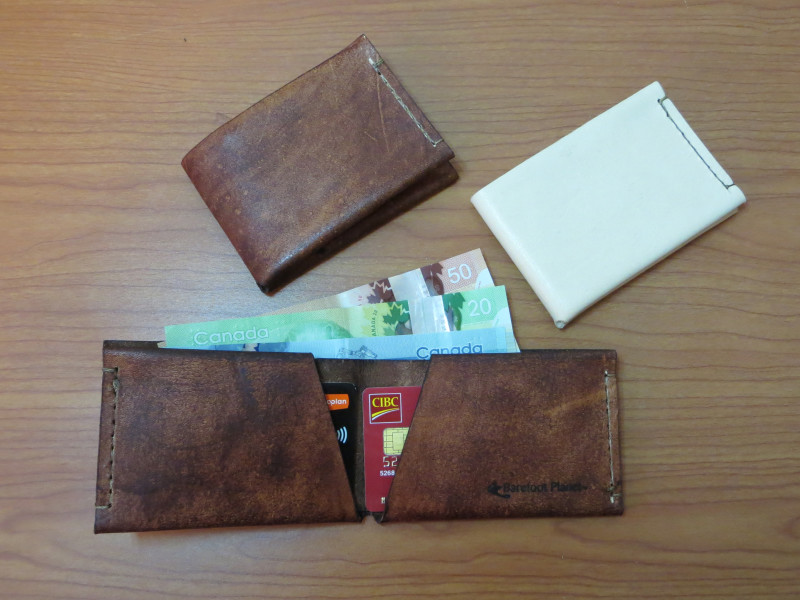 2dbf36a6e65b Introducing the Barefoot Planet Leather Wallets