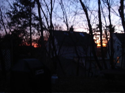 sunset ithaca