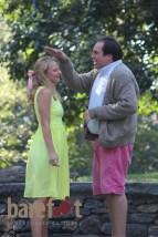 Taylor Rynski as Bianca and Collin Blackard as Baptista