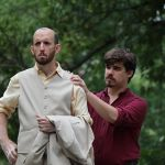 Clinton Powell as Leonato and Rob Sniffin as Benedick