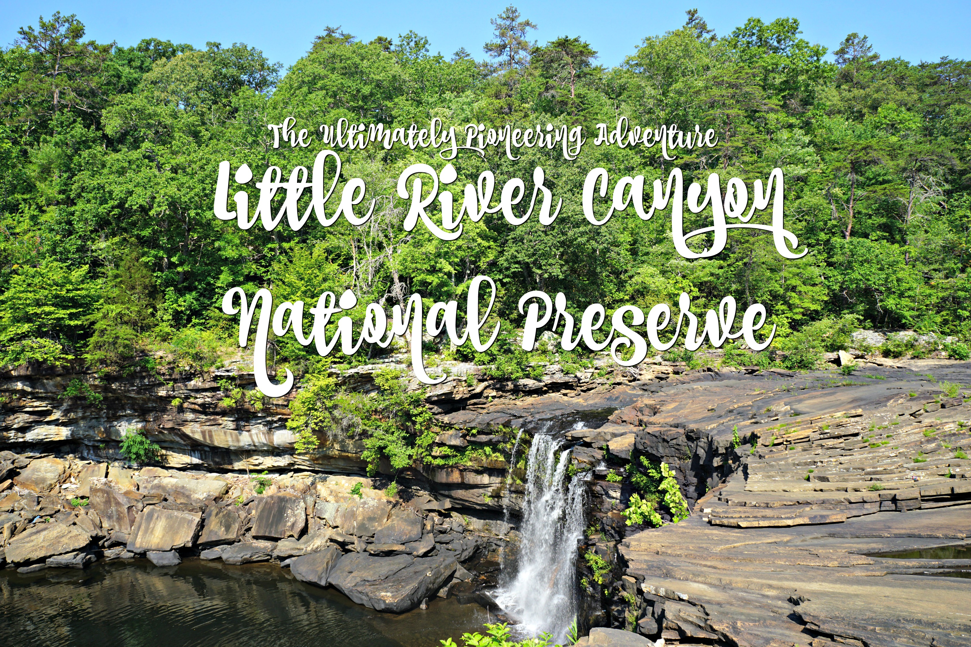 The Ultimate Pioneering Adventure: Little River Canyon National Preserve
