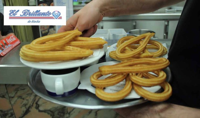 CHURROS - EL BRILLANTE DE ATOCHA