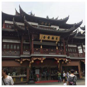 Gammel bydel i Shanghai.