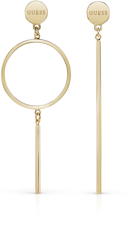 Asymetrisk ørepynt i gull
