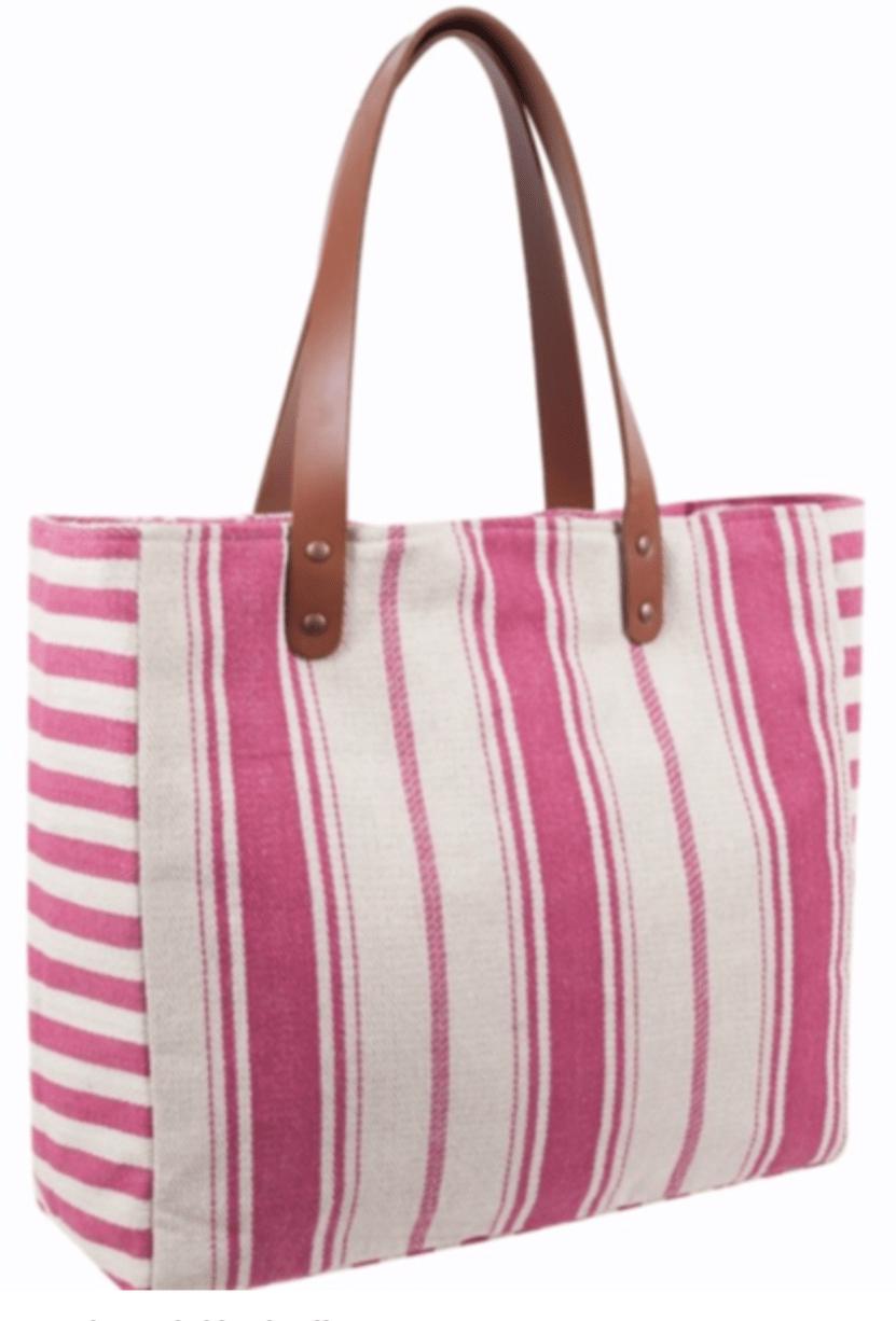 Strandbag rosa