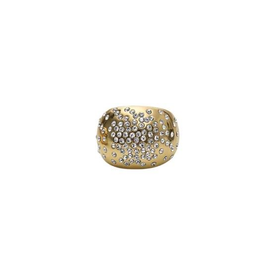 Ring, Mix&Match, Bold Crystal, gull