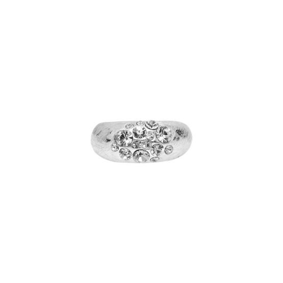 Ring, Mix&Match, Slim Crystal, sølv