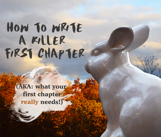 How To Write A Killer First Chapter: (AKA What Your First