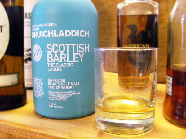 Bruichladdich - Scottish Barley, the classic laddie