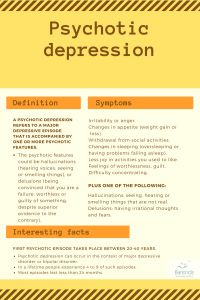 Psychotic Depression - Symptoms causes and diagnosis