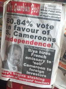 Guardian Post reporting on Southern Cameroons Independence
