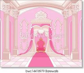 throne castle magic room prints barewalls interior