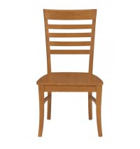 Roma Ladderback Chairs - Bare Wood Fine Wood Furniture ...
