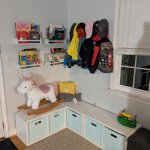 Diy Toy Storage Bench Chic On The Cheap