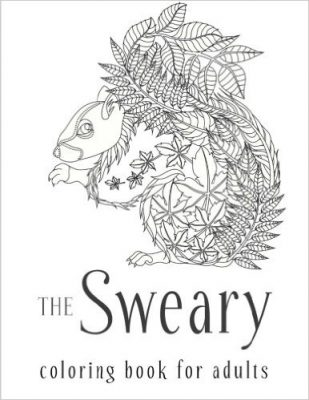 Sweary Coloring Book for Adults Only $3.59!