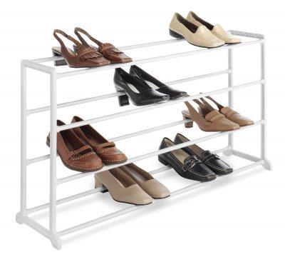 Whitmor 4 Tier 20 Pair Floor Shoe Rack only 968