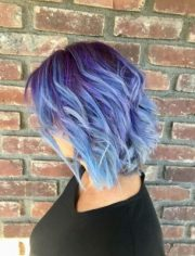 fun and funky hair color