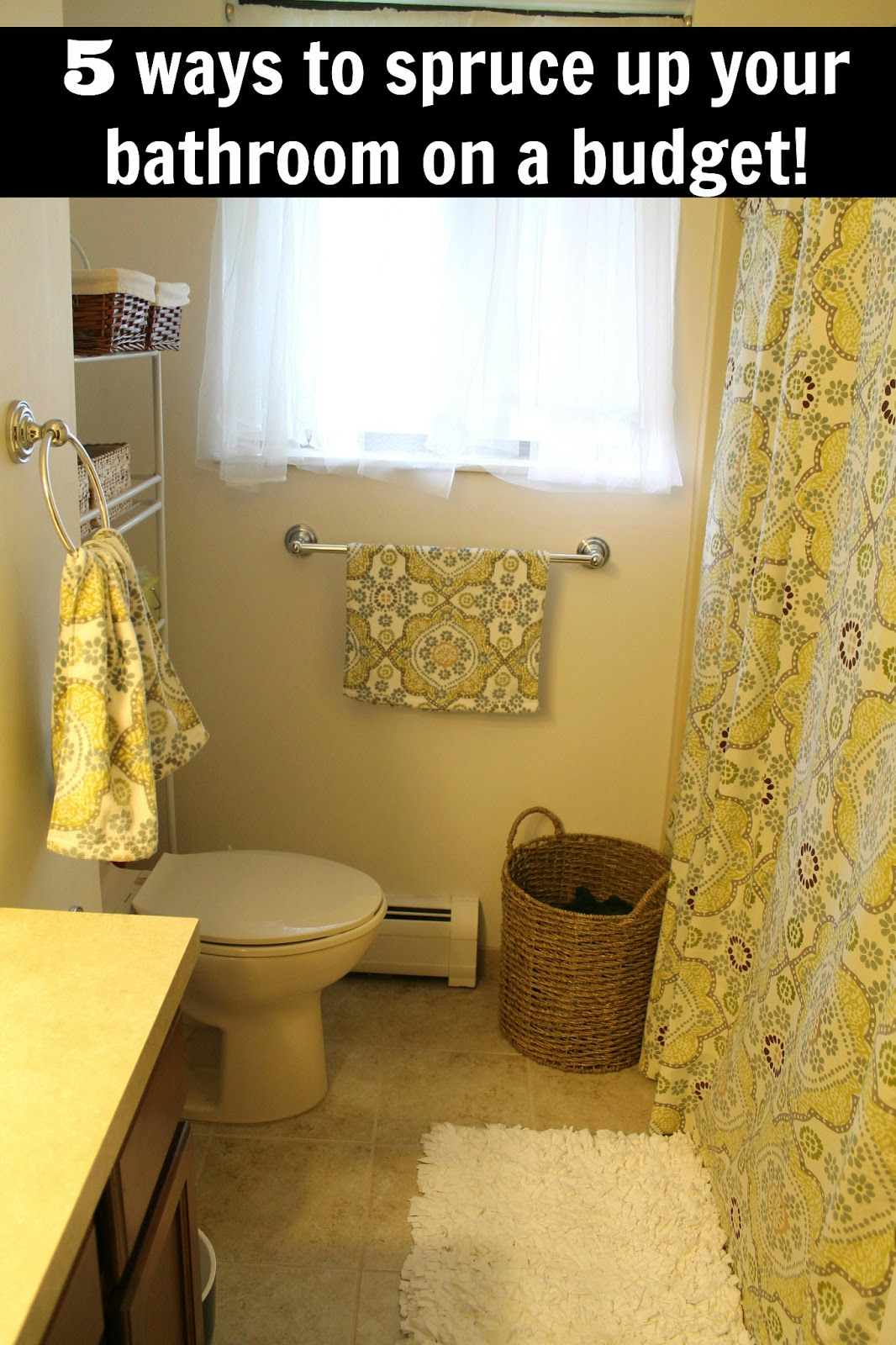 5 Ways to Spruce up Your Bathroom on a Budget  BargainBriana