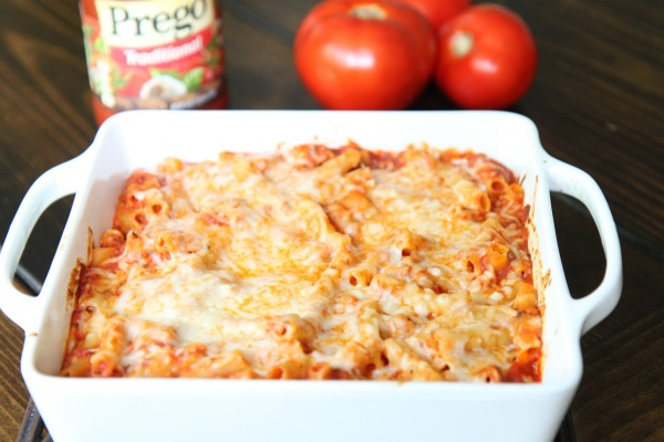 Easy Baked Ziti Recipe Using Prego