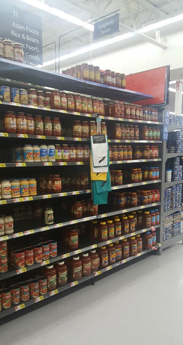 Prego at Walmart