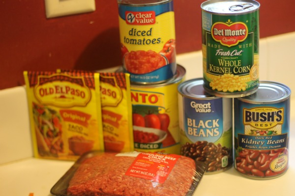 Taco Chili Ingredients