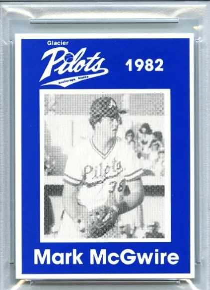 Anchorage Mark McGwire Rookie Card