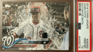 Juan Soto Rookie Card