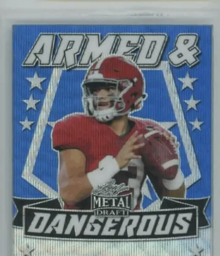 tua tagovailoa rookie card leaf metal