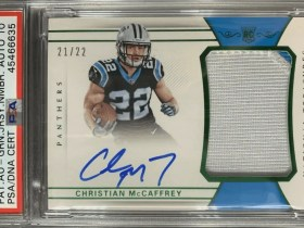 Mccaffrey rookie national treasures