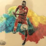 Sadio Mane Trading Cards Color Blast