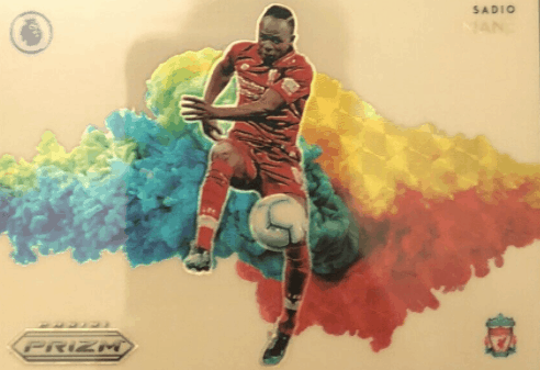 Sadio Mane Trading Cards Color Blast