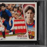 """Lionel Messi Rookie Card """"Sticker"""""""