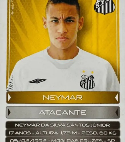 most valuable Neymar Jr. cards