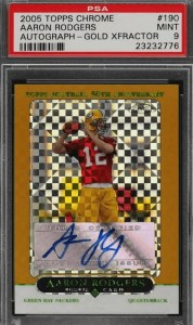 Rodgers Topps Gold