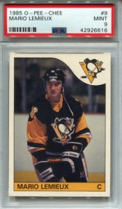Most valuable hockey cards from the 80s: lemieux