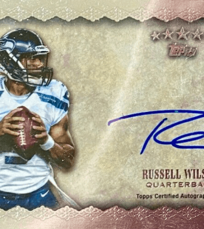 russell wilson rookie card