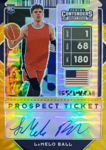 LaMelo Ball rookie card contenders