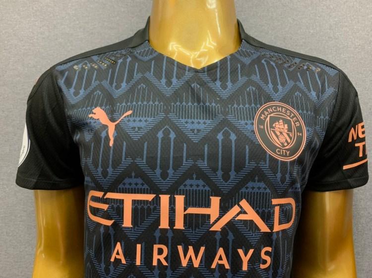 Man City Away Kit - Bargain Football Shirts